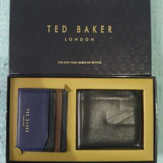 Ted Baker Dompet Free Card Holder Original