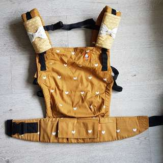 Tula FTG Play Carrier w matching droolpads