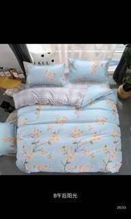 1set床單床套(4件裝)有size選擇  4呎 👉🏼$120、5呎 👉🏼$130、6呎 👉🏼$160