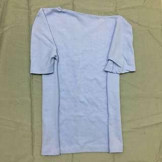 (New) Baju kaos biru