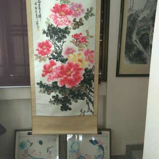 Very old antique painting cheap sales