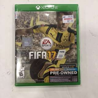 XBOX ONE PREOWNED FIFA 17
