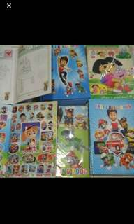 Instock A5 Coloring And Stickers Book ideal for Christmas/birthday party gift brand new Bulk Purchase pls pm me