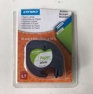 Dymo Paper Label