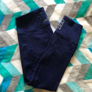 Lorna Jane Blue 7/8 Leggings
