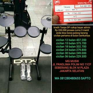 Drum Yamaha DTX 400 k bisa cicil tanpa dp