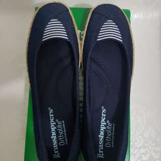 Grasshoppers Women's Mooney Espadrille Sneaker, Size 5.5 US