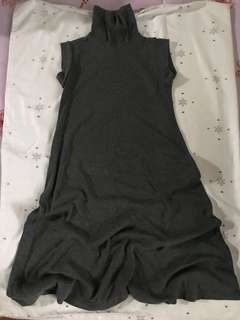 Preloved local turtle neck dress