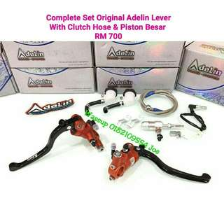 Original Adelin Masterpump Complete Set with Clutch Hose & Piston