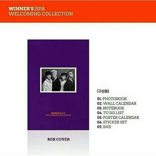 WINNER 2018 WELCOMING COLLECTION