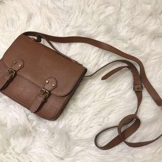 Brown Mini Sling Bag