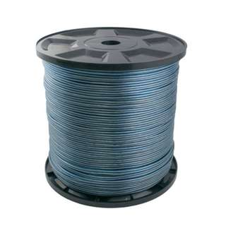 Transparent Speaker Cable Ice Blue 17AWG 300YDS