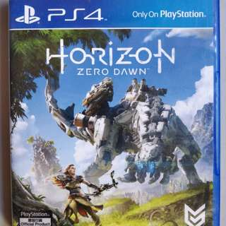 PS4 Horizon Zero Dawn 2017