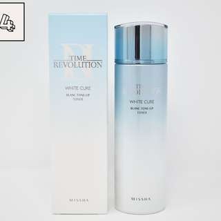 Time Revolution White Cure Blanc Tone-Up Toner