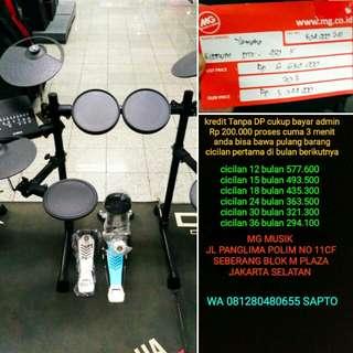 Drum Yamaha DTX 450k bisa cicil tanpa dp