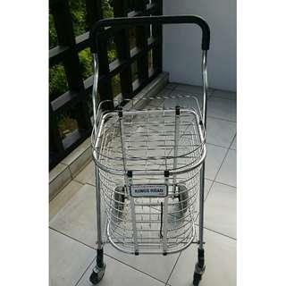 Marketing push cart