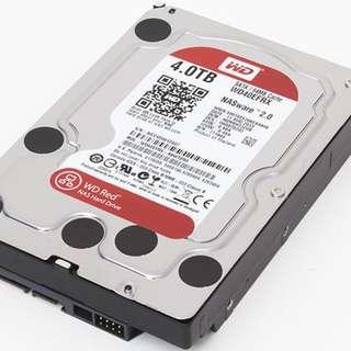 Western Digital Red 4TB Hard Disk Drive