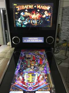 Virtual Pinball machine (pinballx & visual pinball) + arcade