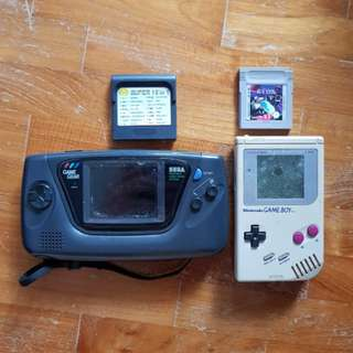 Game Gear and Game Boy Game.