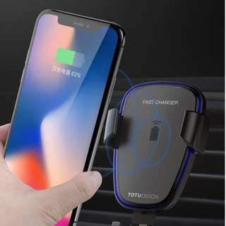 TOTU DESIGN CAR MOUNT WIRELESS CHARGER CACW-05