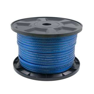 Transparent Speaker Cable Blue 100M/15AWG