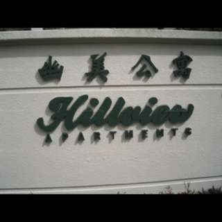 Hillview Apartments 3 bedrooms for rent.