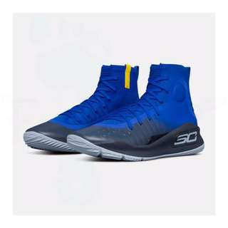 Under Armour Curry 4 Royal