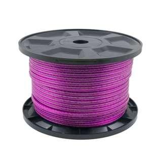 Transparent Speaker Cable Violet 100M/15AWG