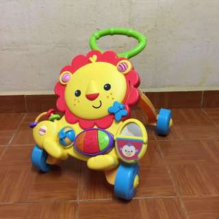 Fisher-Price Lion Push Walker