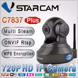 C7837 Plus 720P wireless IP Camera