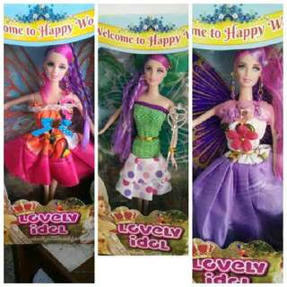 Boneka barbie Fairy/ Boneka Barbie sayap peri