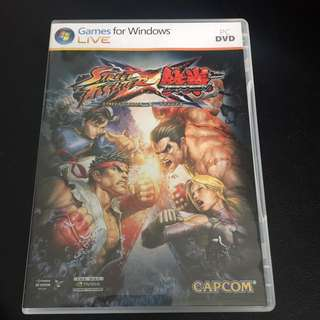 Street Fighter X Tekken PC DVD