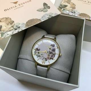Olivia Burton Pansy Blush & Gold Watch (38mm)