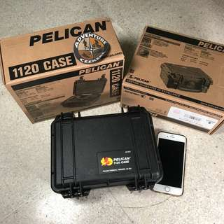 BN Pelican 1120 with foam in box (Black)