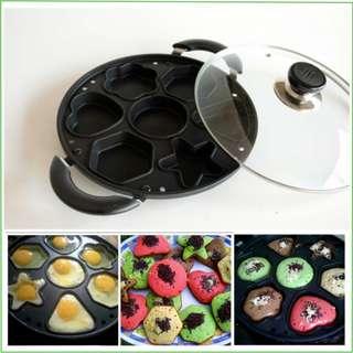 Snack Maker Pan Wajan Loyang Pembuat Kue Panci Cetakan Kue Murah Original