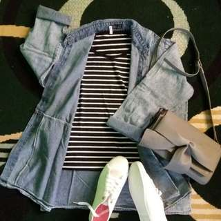 Denim blouse/outer