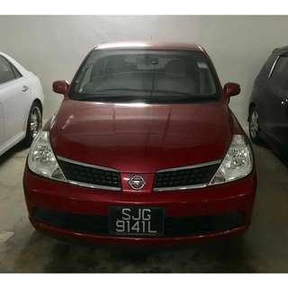 Nissan Latio LOW RENTAL!