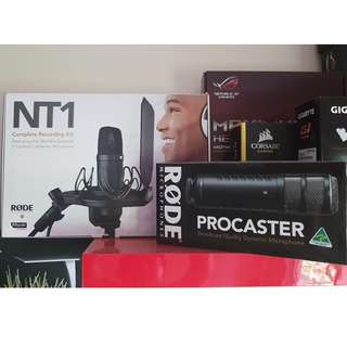 Rode Microphone (NT1, Procaster)