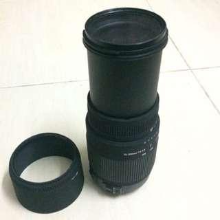 SIGMA DG 70-300mm LENS