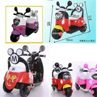 Scooter mickey minnie
