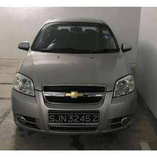 Chevrolet Aveo (Manual) LOW RENTAL!