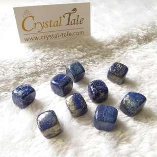 Lapis Lazuli Tumble Cube (T0007)
