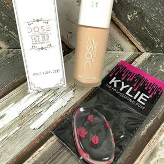 foundation dose free silicon gel blend