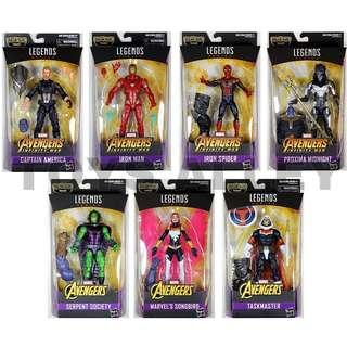 [Preorder] Marvel Legends Avengers Infinity Wars Wave 1 BAF Thanos Series Full Case