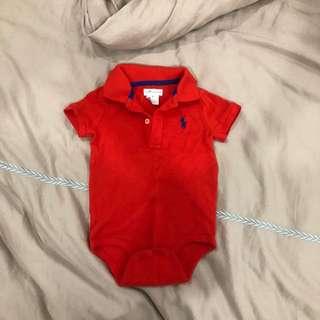 Ralph Lauren Romper 9 months