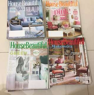 House Beautiful magazines 22 issues