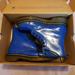 Royal blue doc martens. Size uk 5