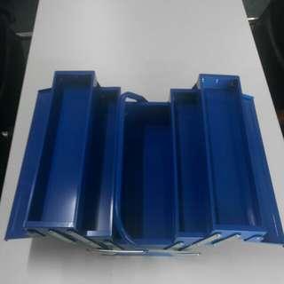 KING TOYO 3 Layer Tool Box - Blue