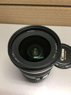 Canon 17-40 f4L