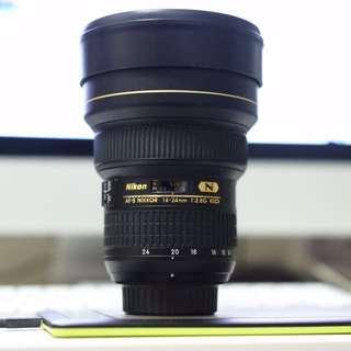 Nikon 14-24G F/2.8
